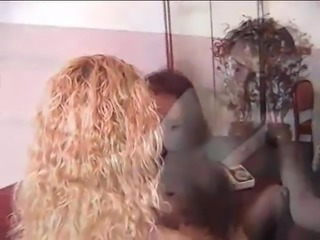 Hot brazilian lesbians licking pussy
