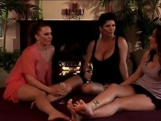 Three Lesbians Threesome - Steamystick