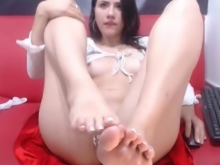 Feet In Face Cam Model NO SOUND