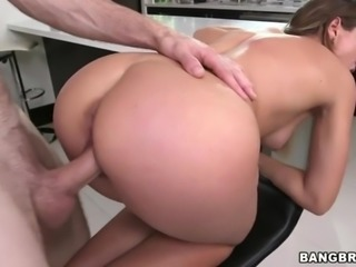 Sweet ass Callie Calypso takes huge cock
