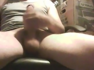 Me stroking my hard cock. Cock got hard, got horny decided to capture it.