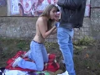 Teen punk girl first time public sex