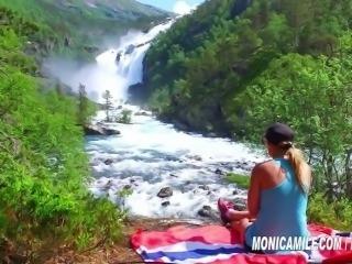 Norsk Porno - Norge rund med MonicaMilf
