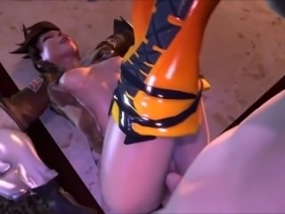 Overwatch Hentai -The Tracer Collection