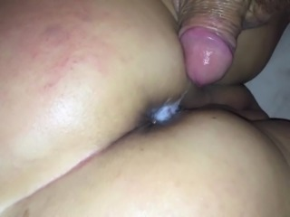 Wife getting fucked in the ass