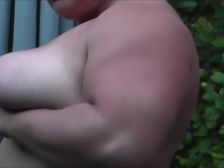 D-Cup Boobs Titsmother and Massive Muscles