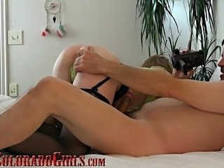 Homemade POV Sex Video - Sexy MILF Makes Old Guy Cum Twice