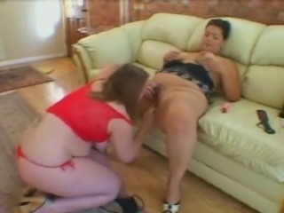 Fat Chubby Lesbians playing with their Wet Pussy,P2
