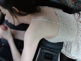 Blowjob In The Car (CIM)