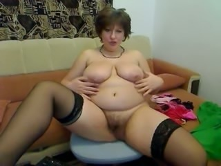 Naughty Russian candy mom is on online date
