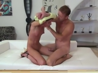 submissive throat fucking