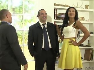 Married Latina babe Sadie Santana cheats on her husband