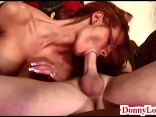 Donny Long splits huge tit milf sult cheating wife