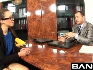 Bang.com: Office Sluts Fuck The Boss