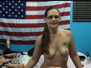 American Grenny Bizzare Masturbation