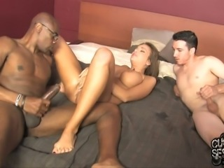 Perverted boyfriend loves to be a cuckold Nika Noire