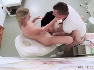 DirtyDoctor.com - Anie Darling, Violette - Special threesome treatment