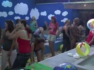 This Hot Bachelorette Party Turns Into A Big Hardcore Orgy