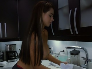 My exhibitionistic Colombian maid could very well be the hottest maid on Earth