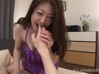 Chubby Japanese slut gets her hairy cunt penetrated deep