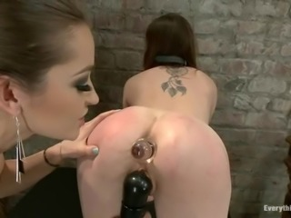Dani Daniels enjoys hot anal fisting in hot domination clip