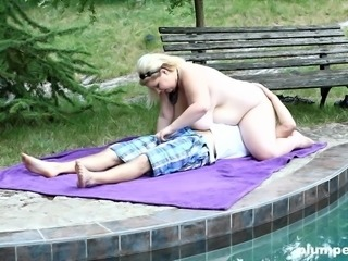 Plumperd.com Massive blonde face-sits her lover