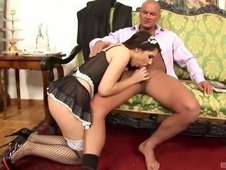 Valentina Nappi cannot get enough of a hot fellow's big penis