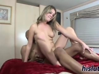 Two saucy blondes share a BBC