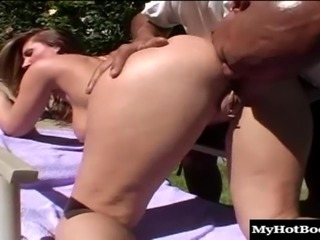 Bouncing on a black cock is all a cute brunette wants to do