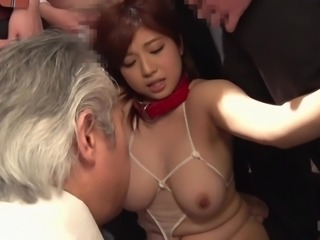 This busty milf is one helluva cum hungry vixen. Just look at her suck all...
