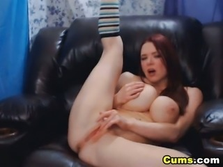 Massive Tits Chick Does Anal and Titty Fuck
