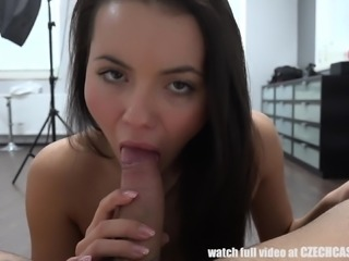 Does this Czech cutie have what it takes to be the star in a porno film. You...