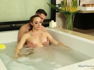 Kinky guy wishes to fuck yummy big breasted MILF Chanel Preston in massage...