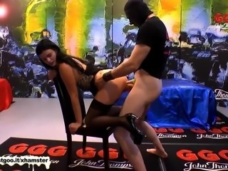 Shy Alice experience Monster Cock for the first time - GGG