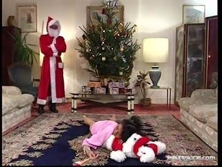 """Santa """"Gangbang"""" Claus with Nathalie"""