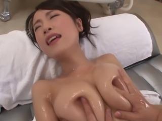 Vivacious Asami Nagase riding a hard dick unstoppably