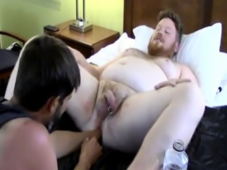 School young gay ass hole Sky Works Brock's Hole with his Fist