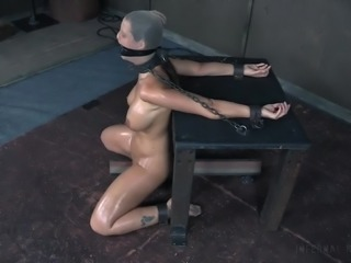 Get ready for some pain and humiliation. Naughty Syren is tied up by the...