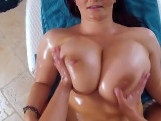 Euro Big Tits Lesbians Dildo Each Others Pussy & Ass