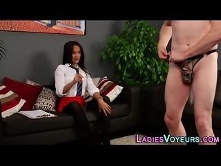 Kinky cfnm mistress watch