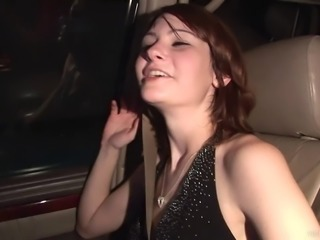 Compassionate amateur babes with small tits dancing lovely in the club party
