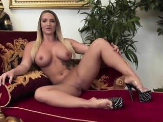 Hot orgy session with oiled-up hotties