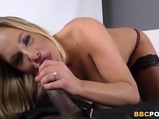 Big Titted Blonde Olivia Austin Tastes BBC POV Style