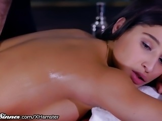 SweetSinner Erotic FFM Massage with Abella Danger!