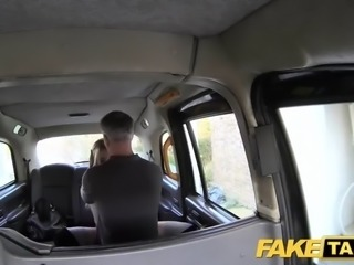 Fake Taxi good fuck anal sex and huge facial for blonde