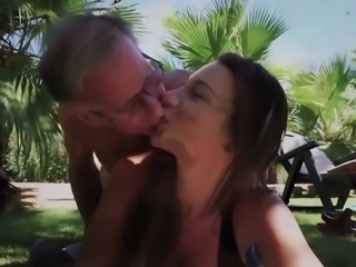 Pretty Young Girl Mouthful Of Cum Anal Sex With Grandpa