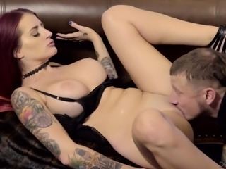 She doesn't care about her husband at all. Instead, she wants to fuck with...