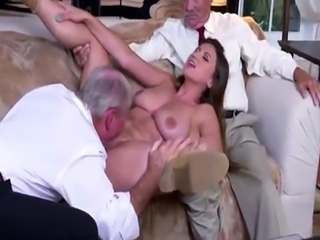 Brunette amateur first anal time Ivy impresses with her giant breasts