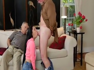 Old man creampie and fun first time Dukke the Philanthropist
