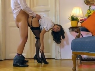 Stunning princess Frida Sante wants to bounce on a hard cock